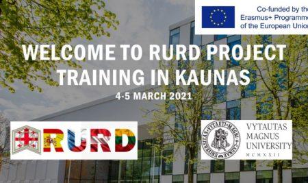 მეორე ონლაინ ტრენინგი Erasmus+ ინსტიტუციური განვითარების პროექტის ფარგლებში